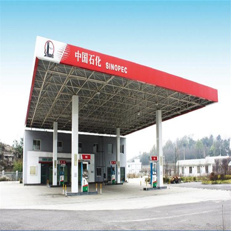 加油站网架设计加工,首选漳华网架,专业生产,品牌保障