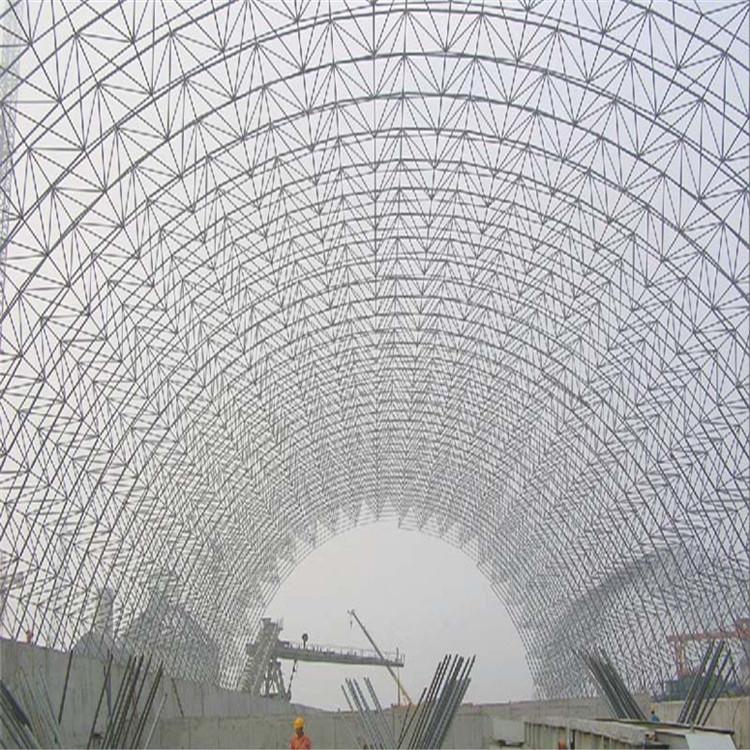 无梁拱形屋顶,漳华网架,造价低,无渗漏,核心技术强,欢迎来电咨询