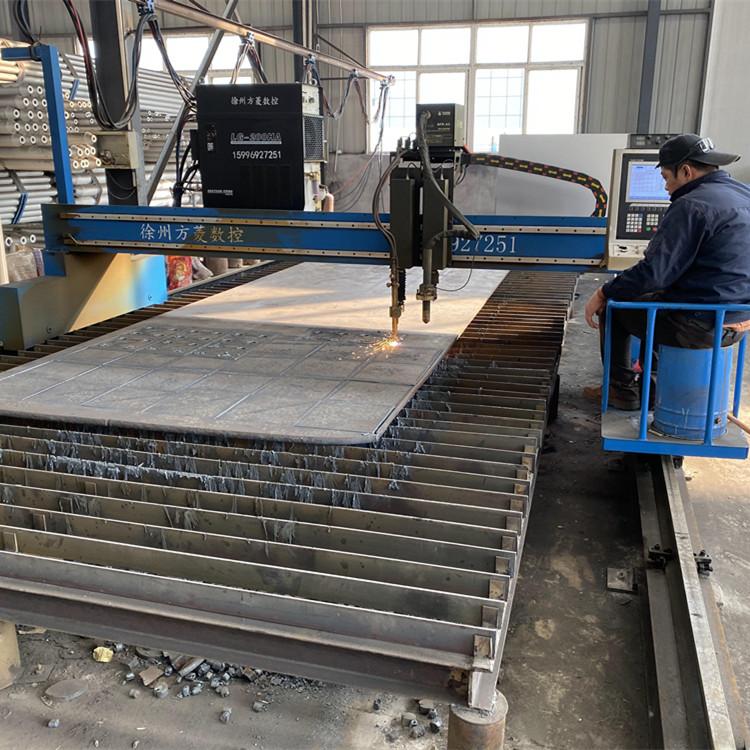 徐州钢板下料、数控钢板下料,徐州华凯网架,交货及时,提供质保