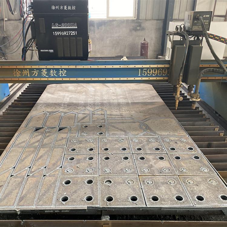 网架数控钢板下料,徐州钢板下料找华凯网架厂家,专业网架公司,信誉保证,价格低