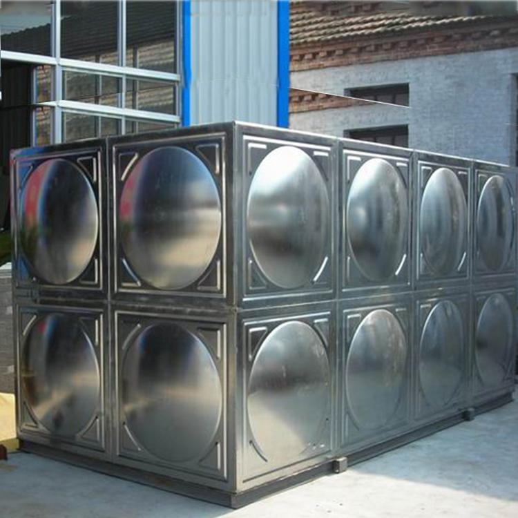 方形不锈钢水箱认证昕旺水箱,价格低质量高,专业安装