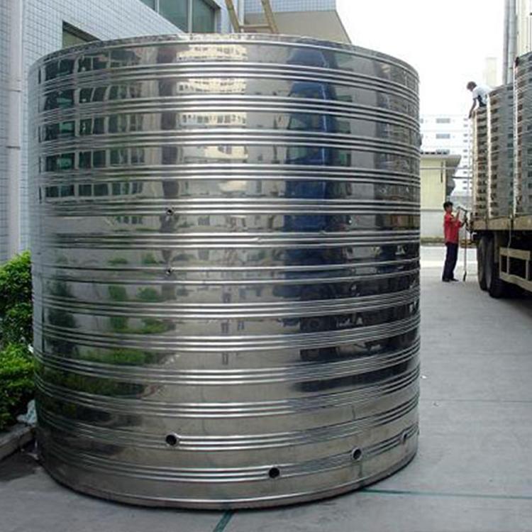 圆形不锈钢水箱厂家供应圆形不锈钢水箱,不锈钢保温水箱,高层圆形水箱