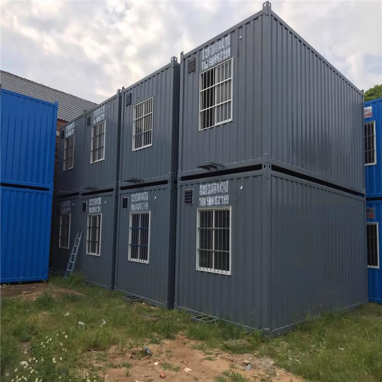 新型绿色住人集装箱,大波浪箱,集装箱办公室,随吊随住,A级防火大波浪箱