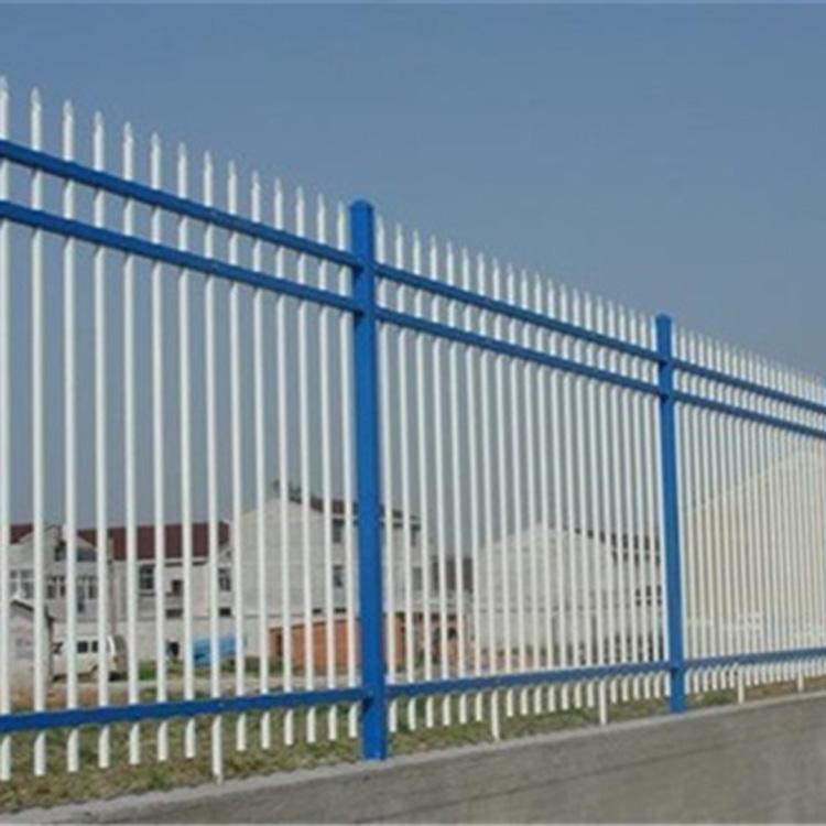 批发院墙锌钢围栏 小区围栏 别墅围栏 厂家现货供应