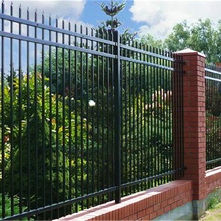 围栏价格 围栏生产厂家 定制院墙锌钢围栏 公寓围栏