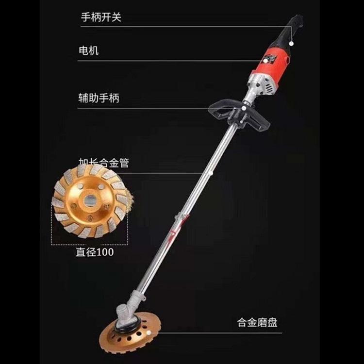 长杆电动打磨机 打磨机生产厂家 批发长杆打磨机