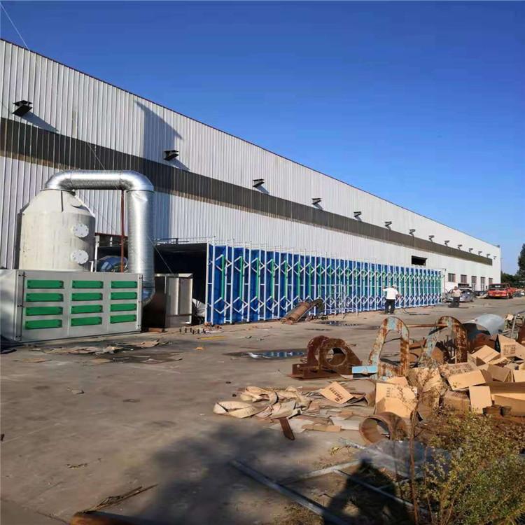 大型移动喷漆房、伸缩喷漆室,专业定制,厂价直销