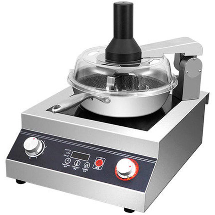 赛米控 商用炒菜机 全自动 智能炒菜机器人 家用电磁烹饪锅 欢迎咨询