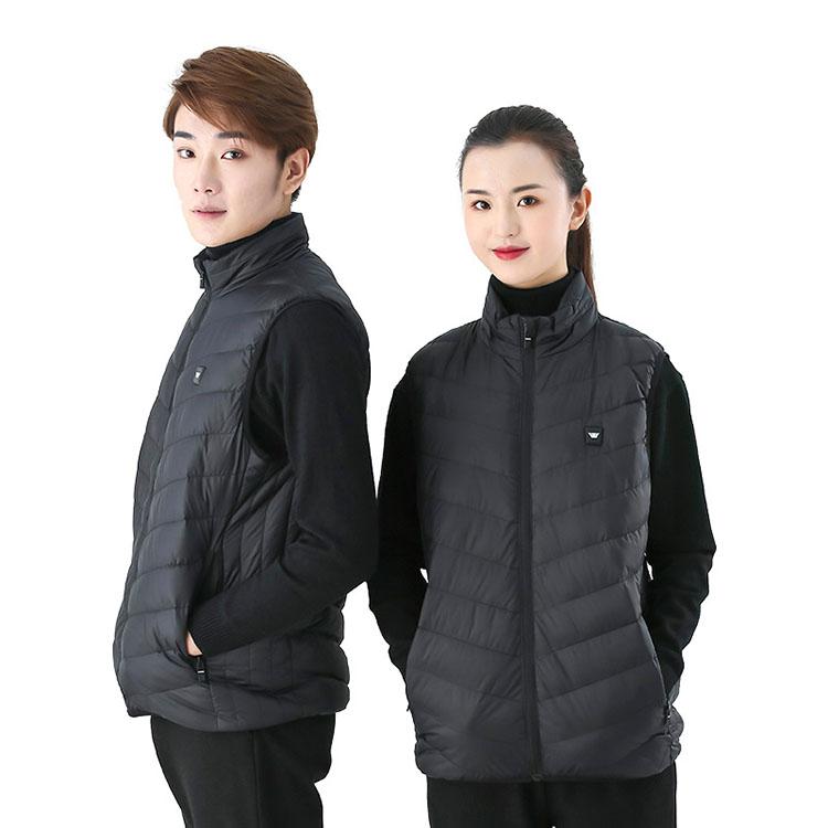 发热服电热服保暖衣_厂家智能发热服电热服保暖衣马甲男女款