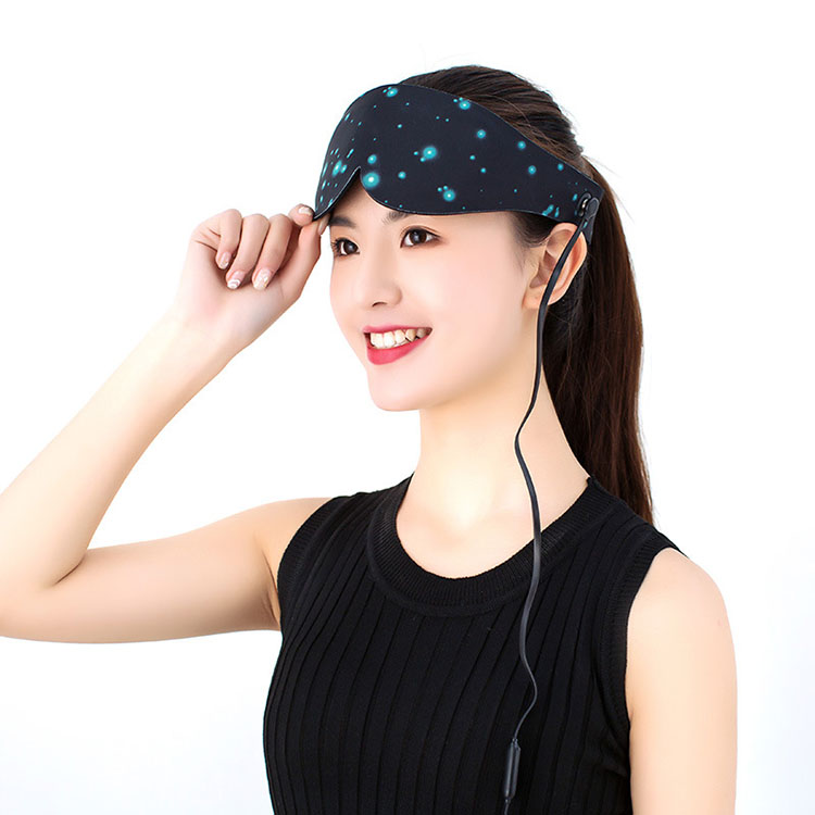 热敷眼罩_厂家直销石墨烯眼罩电加热热敷眼罩远红外发热按摩