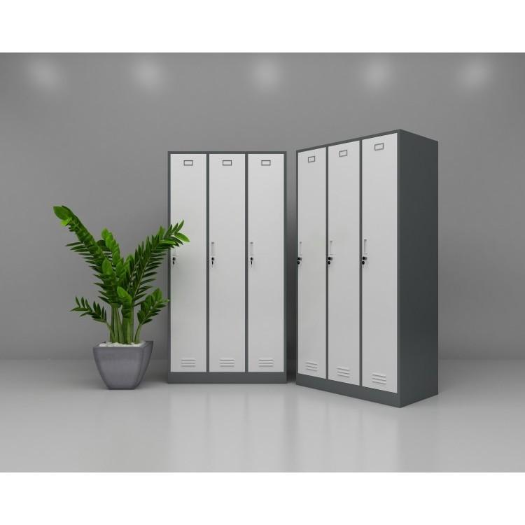 现代更衣柜、优质医用电解钢板选材、厂家定制直销