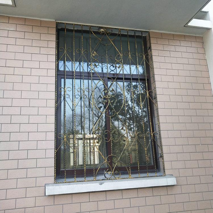 铁艺窗户专业安装定制厂家,质优价廉,来图定制