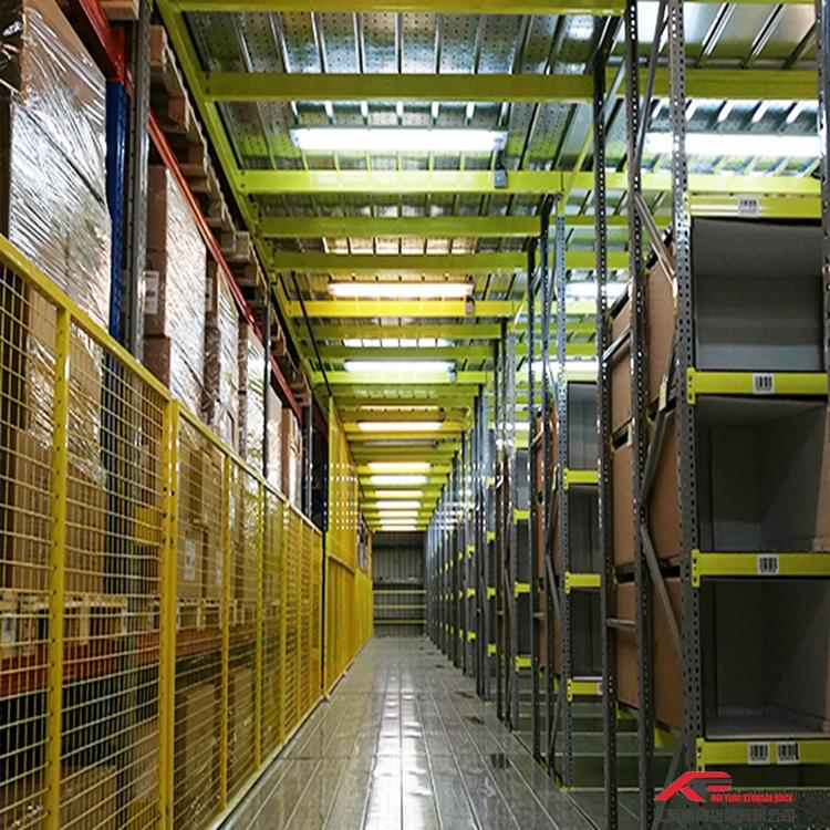 定制窄道及双深度货架,睿腾货架,质优价廉,取货便捷灵活