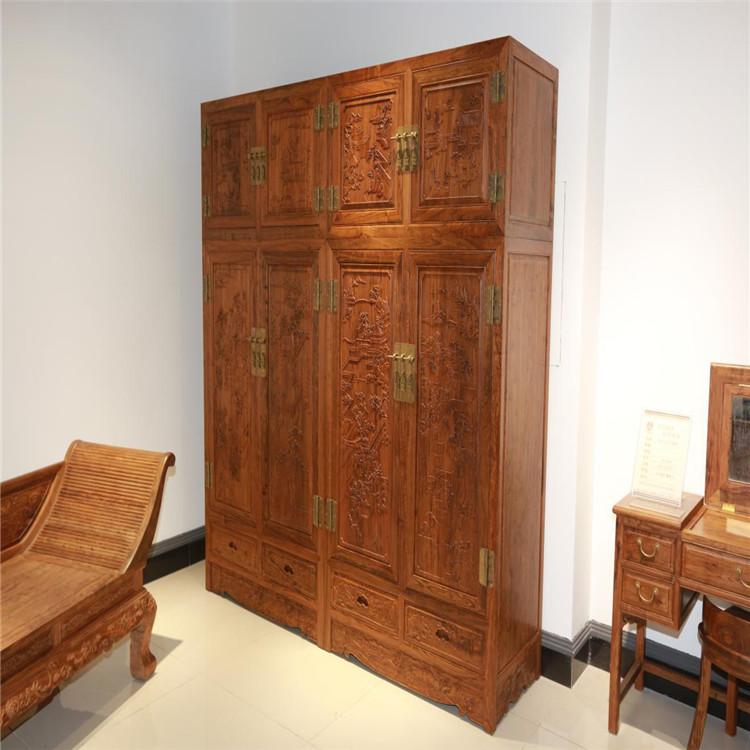 山水顶箱柜,优质红木产品直销,东红木业