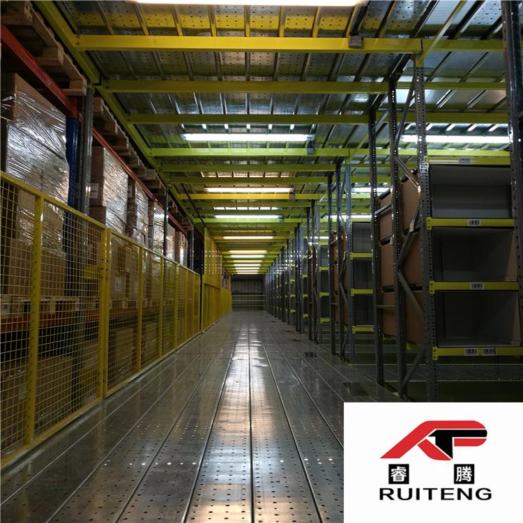 睿腾定制阁楼式重型货架 专业生产厂家 欢迎咨询