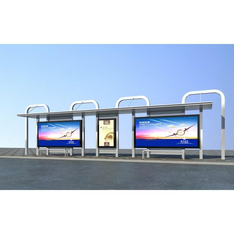 公交候车亭,不锈钢公交候车亭,智能公交候车亭厂家。