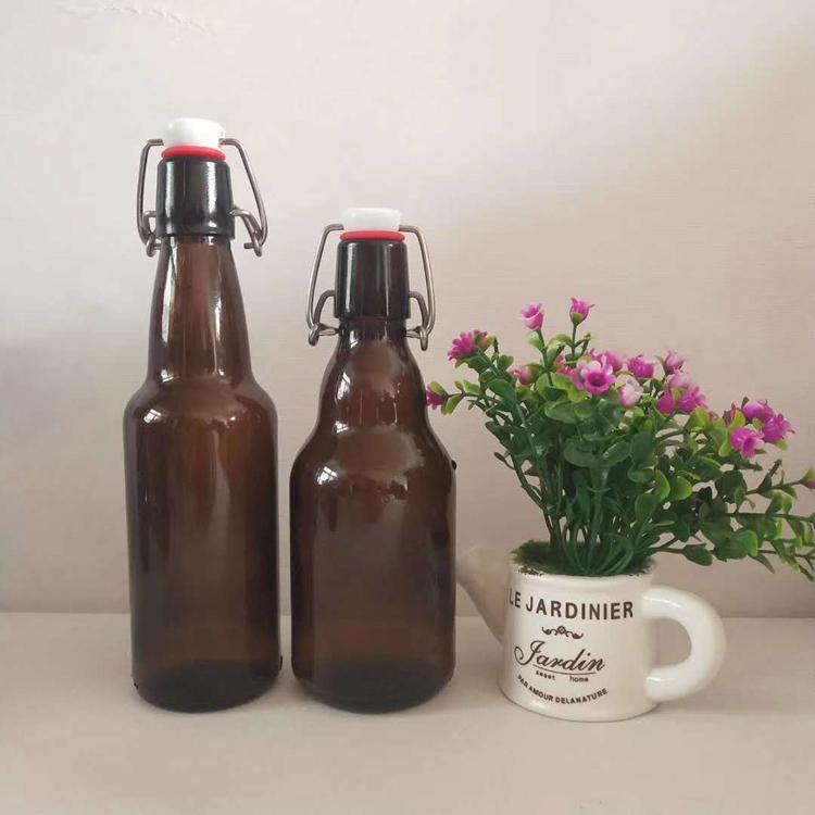 厂家直销棕色啤酒瓶 精酿啤酒瓶 造型精美