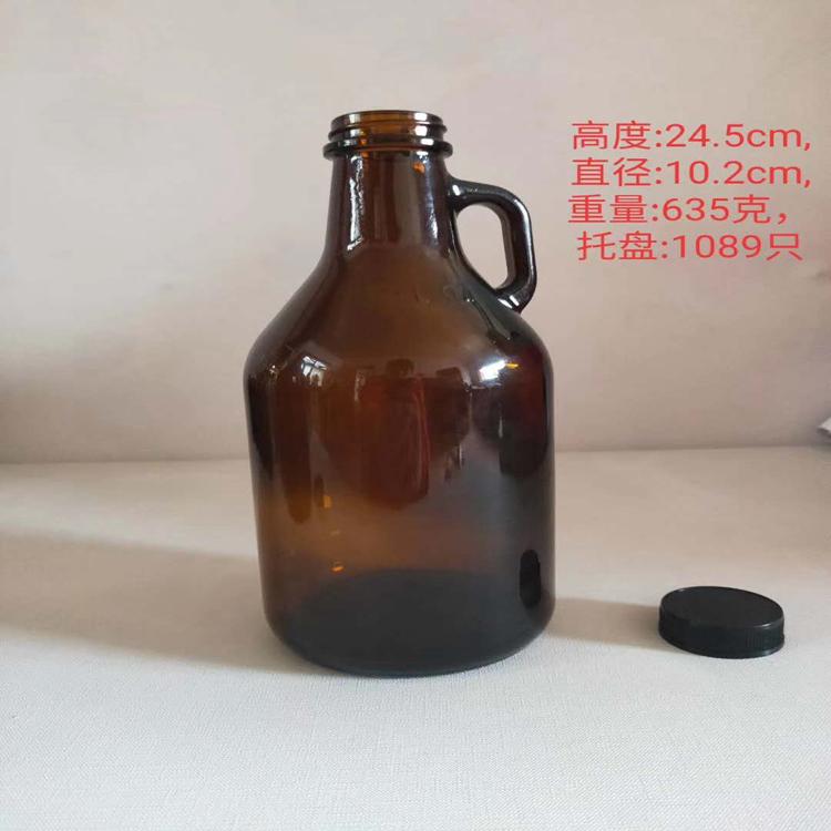 优质茶色酒瓶批发 徐州玻璃瓶厂家 制造精良