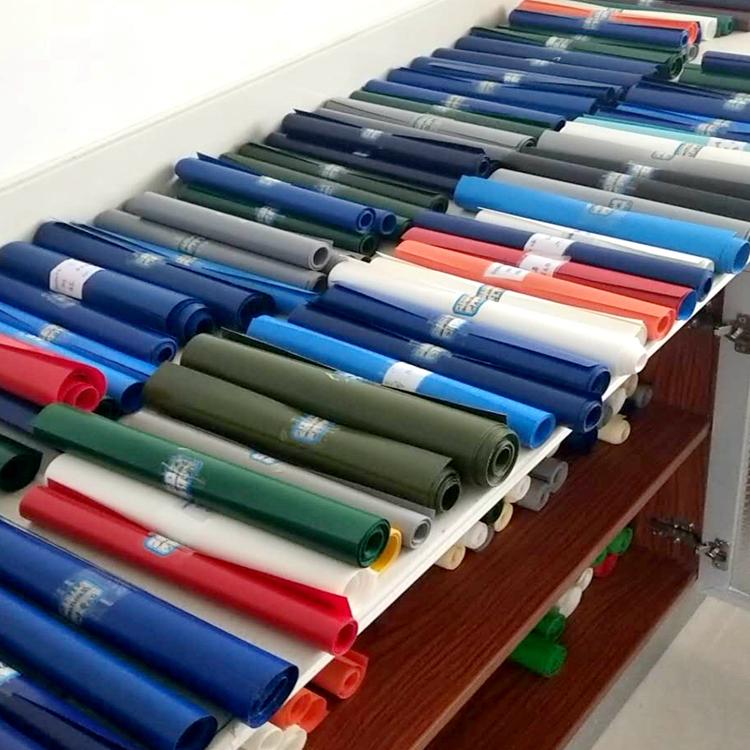 佳鑫布业 专注pvc防雨篷布生产批发 尺寸支持定制