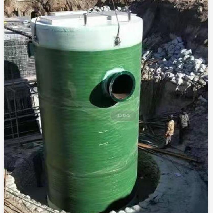 专业直销一体化玻璃钢泵站,质优价廉,专业厂家生产一体化玻璃钢泵站