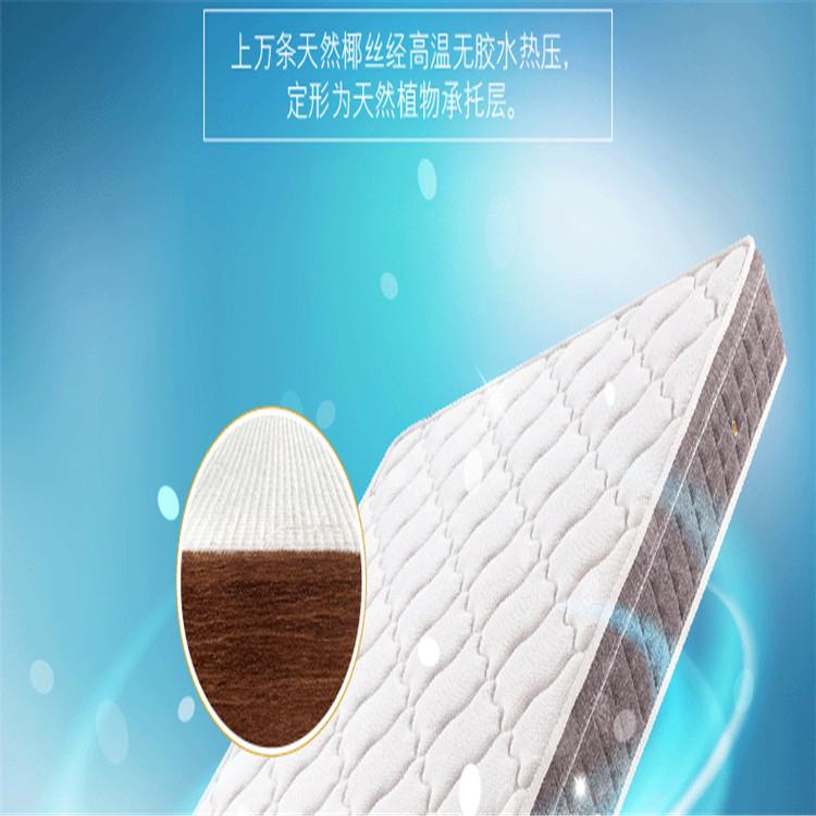 【赛诺】独立袋装弹簧零压记忆棉床垫 经久耐用 韧性高