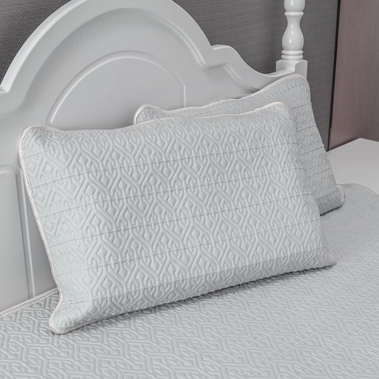 代加工2*2.2m乳胶凉席 乳胶凉席拥有良好的透气性和吸湿性