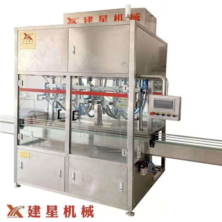 直线灌装机,厂家直销,精湛的研发技术,专业制造直线灌装机