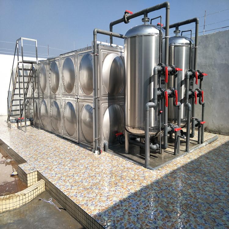 专业出售一体化净水器 中然水务 可定制 技艺精湛