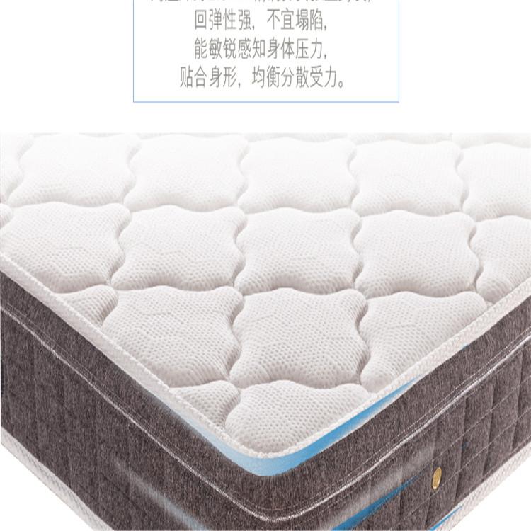 现货供应 记忆棉床垫 独立袋装弹簧零压 经久耐用 质量靠谱