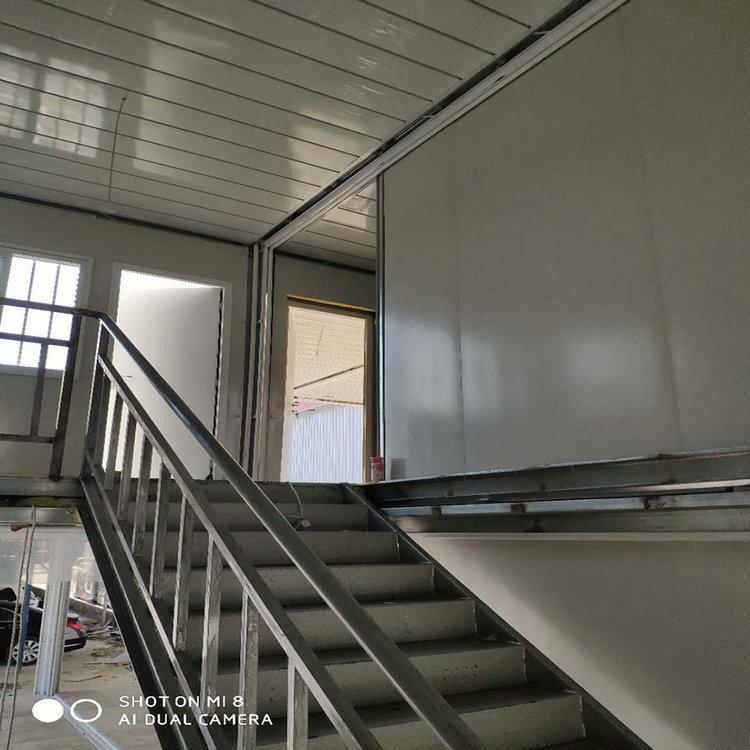 定制集装箱宿舍 整体结构 焊接固定 15分钟安装 1小时入住