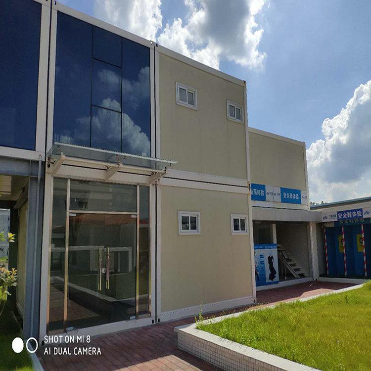 安装定制集装箱办公室 众诚集装箱 方案合理 质量可靠 防风抗震 整齐美观