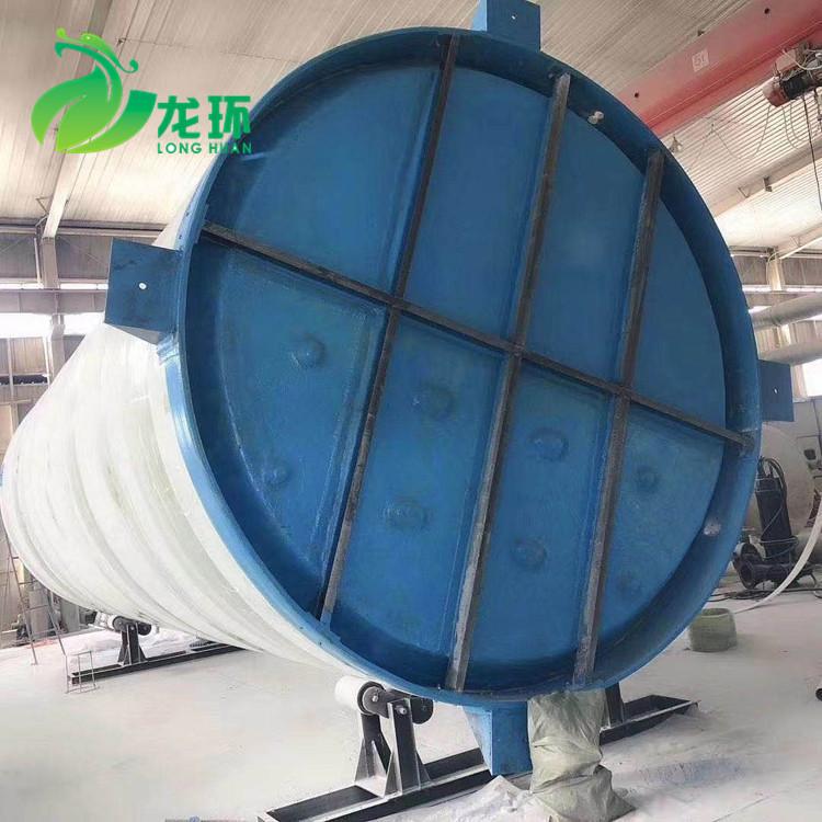 专业生产泵站 玻璃钢一体化泵站 玻璃钢污水处理泵站