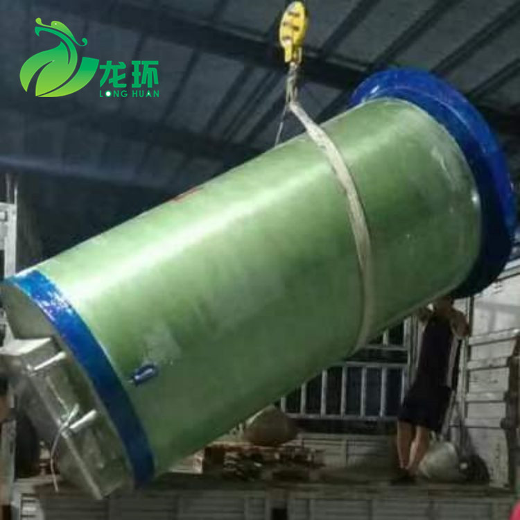 玻璃钢一体化泵站价格 广东玻璃钢一体化泵站生产厂家直销