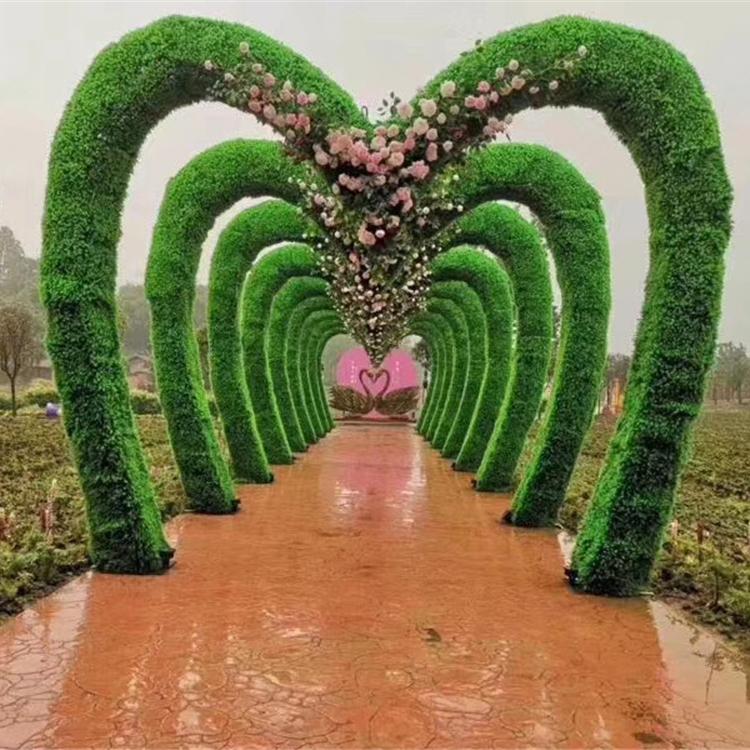 厂家专业定制出售绿雕 绿雕厂家 龙君展览