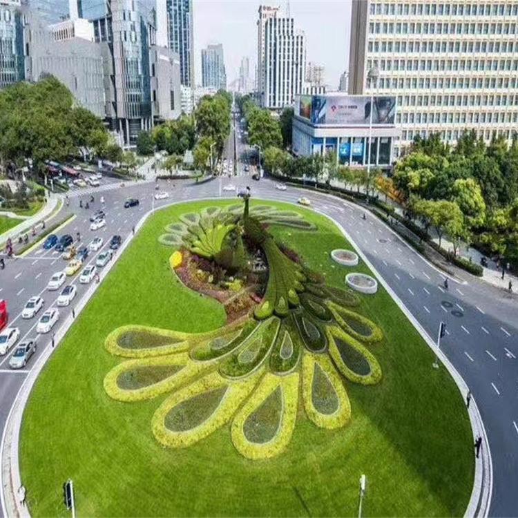 绿雕定制 龙君展览 造型主题多样化 厂家专业出售绿雕