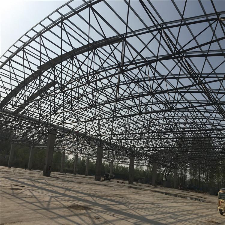 安装煤棚网架,选择优质网架加工厂家,皓发网架,专业设计各类网架工程