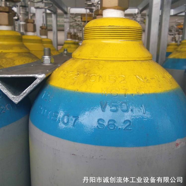 厂家直销氟氮气钢瓶组 精选厂家 诚信经营 制造精良