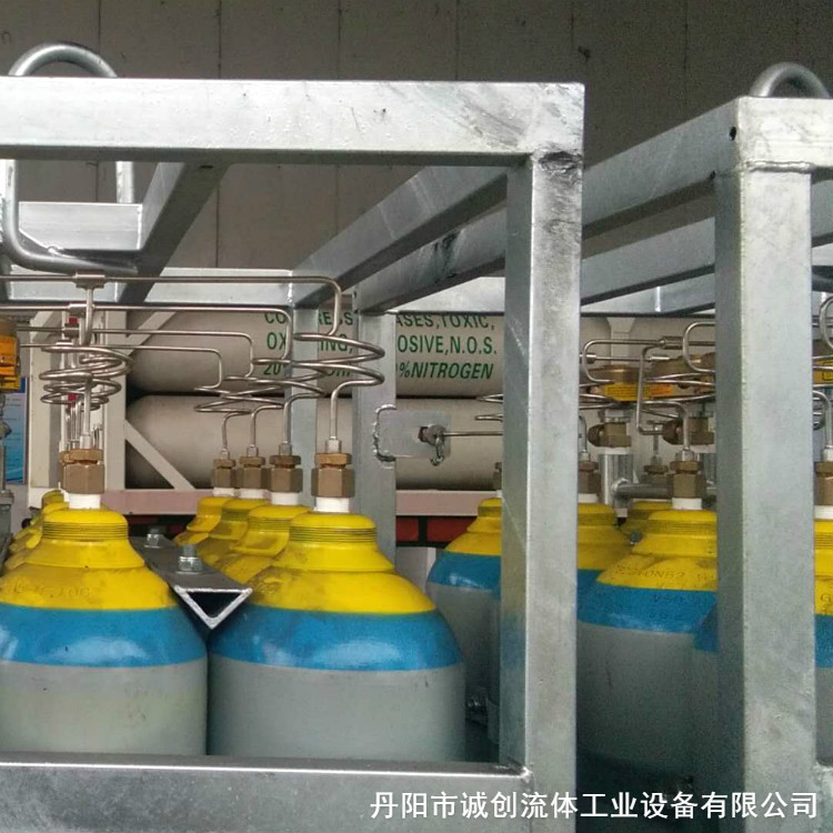 专业出售氟氮气钢瓶组 氟氮气钢瓶组 规范管理 用户满意