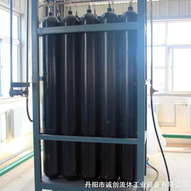 高压氮气瓶组供应单位 可订制 可用于高压空气,氮气,氦气的储备