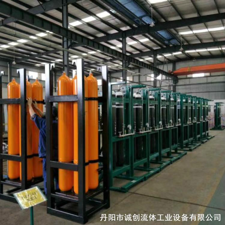 供应高压氮气瓶组 高压氮气瓶组生产厂家直销 精工细作 严格把握品质