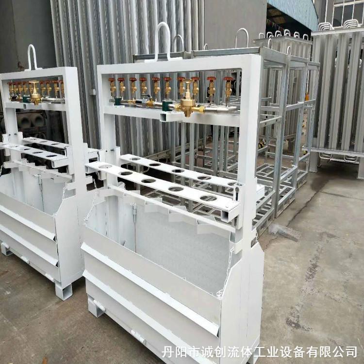 特气钢瓶集装格专业出售单位 结构紧凑 占地面积小