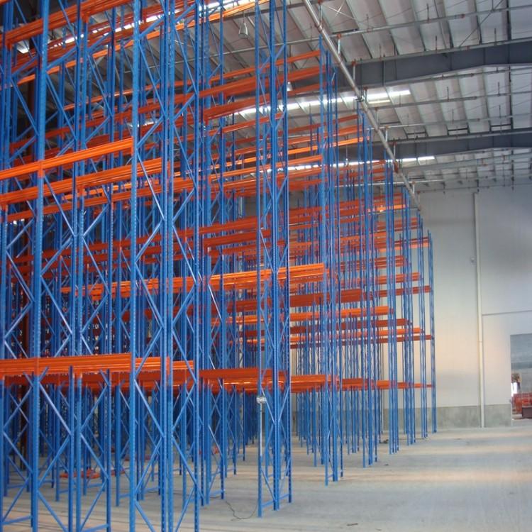 重型货架 仓库置物架多层托盘横梁式大型库房货架 可定做仓储铁架子