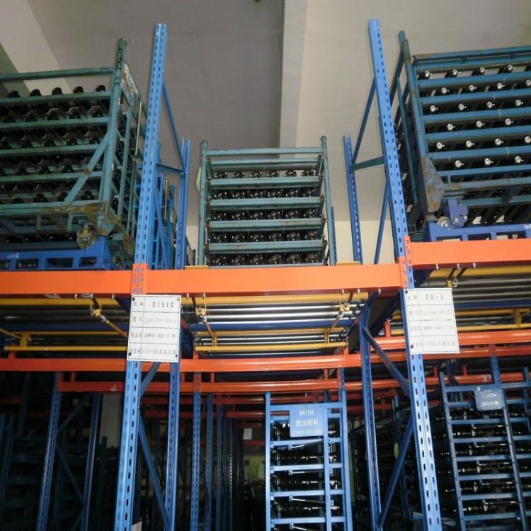 重力式货架 电商物流重量型货架 托盘货架立体