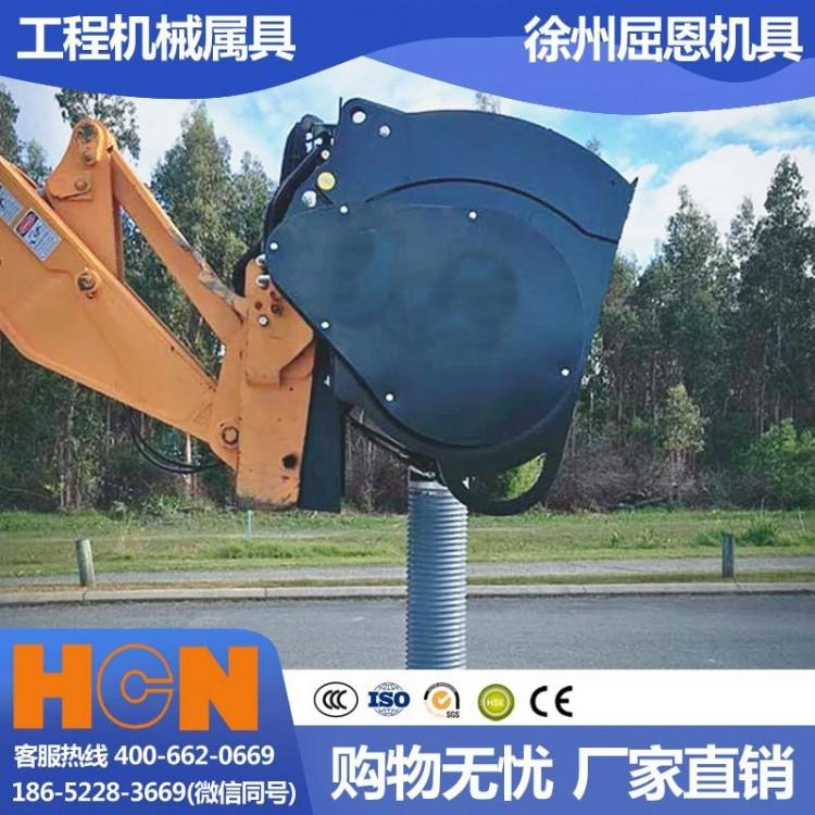快速上料搅拌斗 挖机挂载混凝土搅拌机 HCN屈恩0310B06型下卸料搅拌斗 施工工地搅拌站