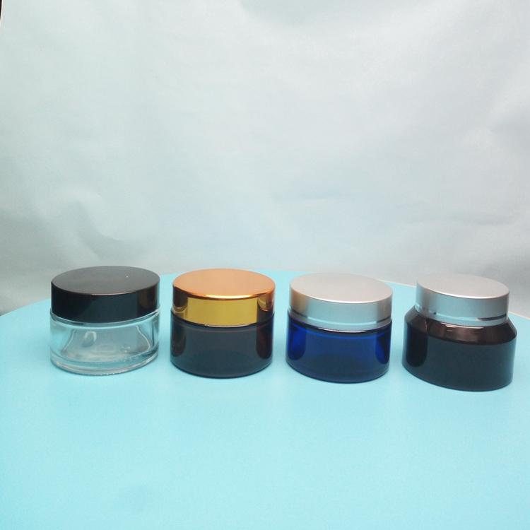 厂家定制膏霜瓶 化妆品瓶价格  护肤品霜瓶子 支持定制印字