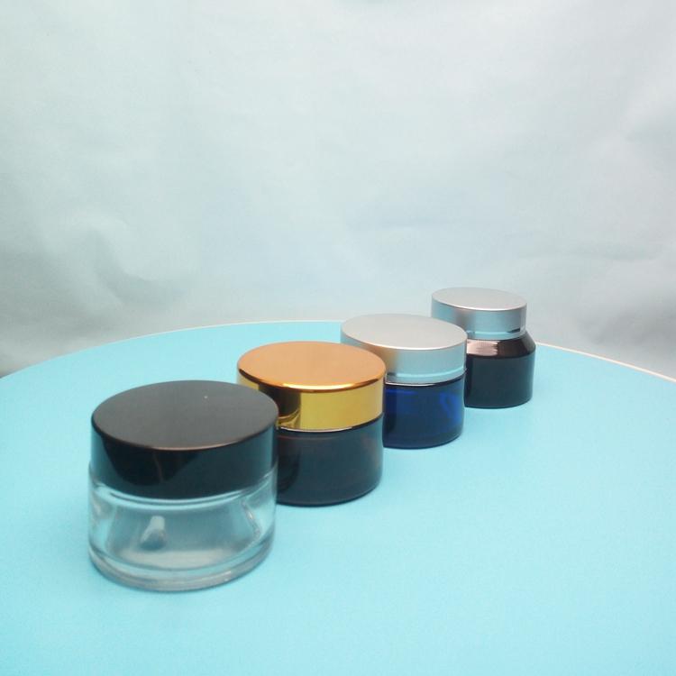 厂家定制膏霜瓶 化妆品瓶 高端护肤品瓶子 玻璃瓶厂家