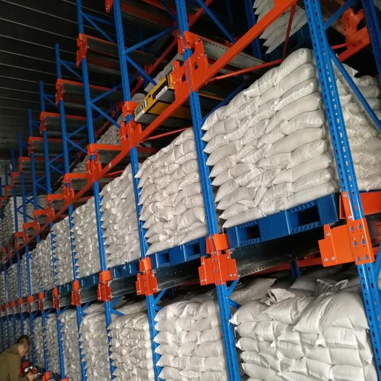 穿梭子母货架  高密度存储 食品仓库架子 专业生产货架