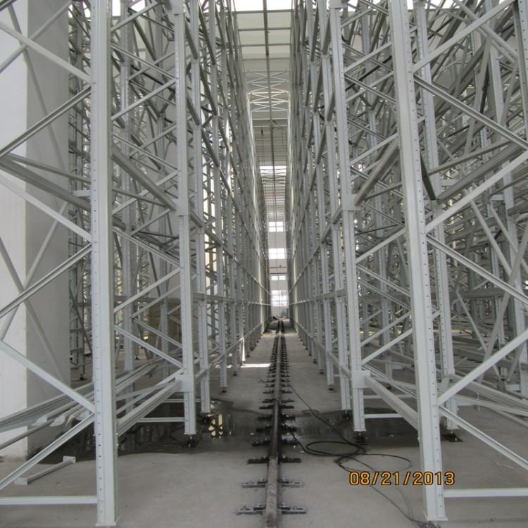 自动化 仓库货架 贯通式货架 智能货架定制