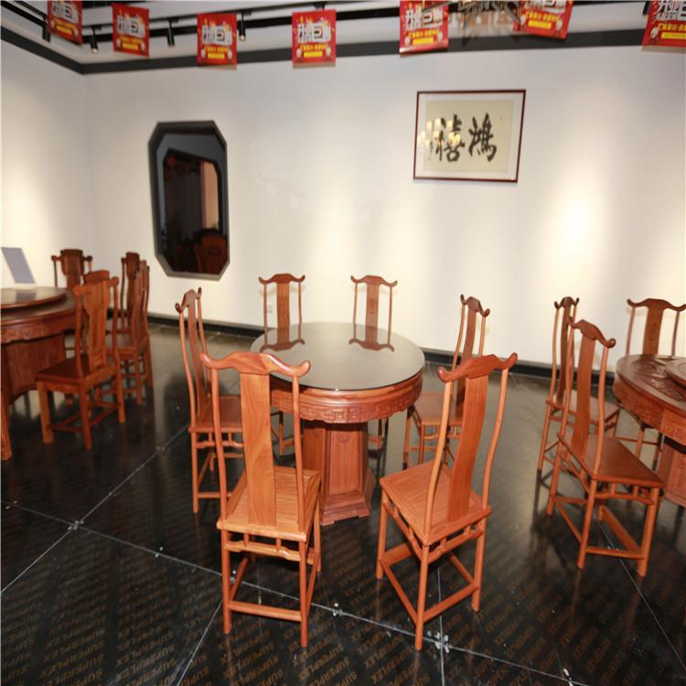 厂家供应 明式圆桌 红木家具专业定制 质优价廉