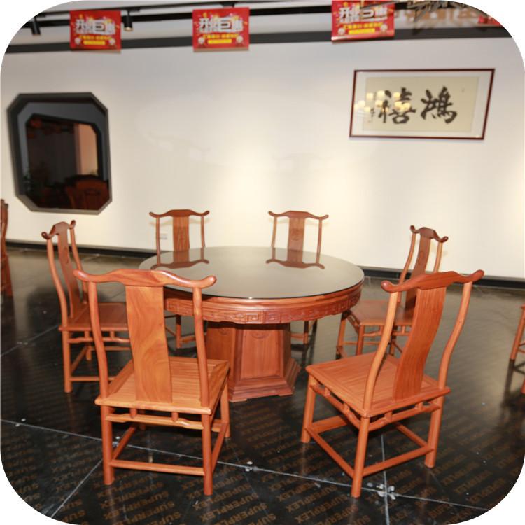 供应明式圆桌 红木家具 售后服务有保证 欢迎订购